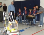 Musson Cub Scouts Demonstration
