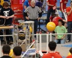 Stoney Creek Competition: Robot in action 5