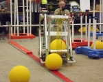 Stoney Creek Competition: Robot in action  2
