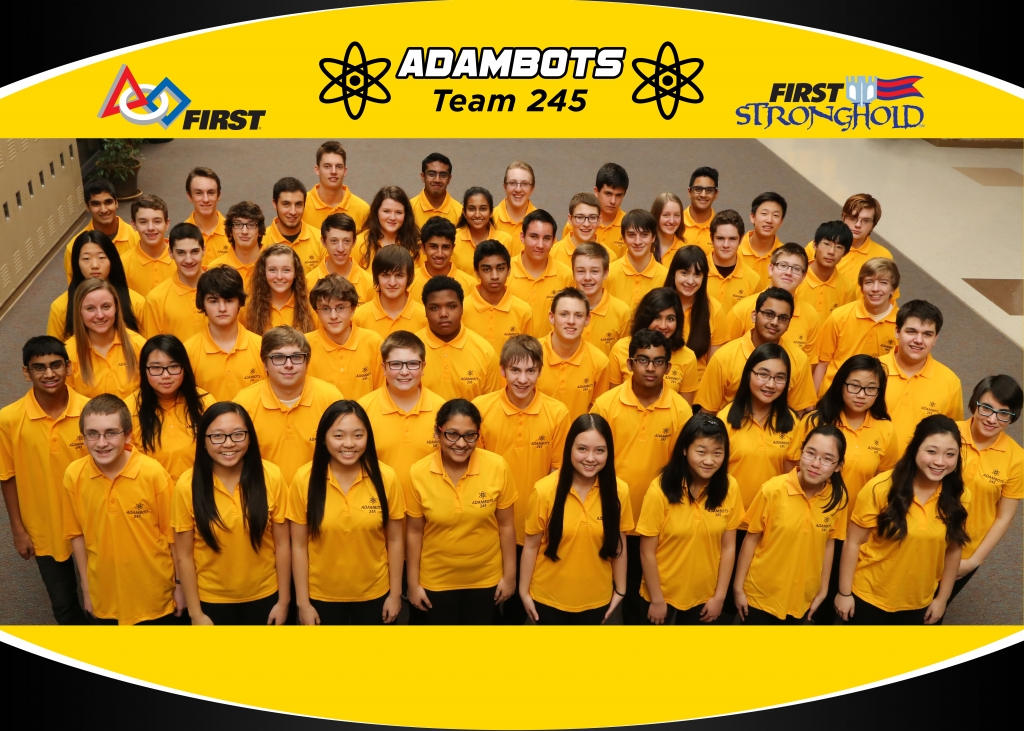 AdamBots Team 245 Team Photo