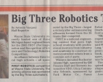 Big Three Robotics Team Victorious - Detroit Free Press (2001)