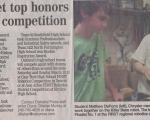 Oakland Teams get Top Honors in FIRST Robotics Competition - Oakland Press (2010)