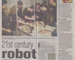 21st Century Robot - Oakland Press (Summer 2005)