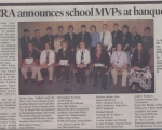 OCCRA Announces School MVPs at Banquet - Student and Athlete (2007)