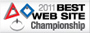 2011 Championship Best Website Award