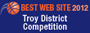 2011 Troy District Best Website Award