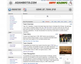 2007 OCCRA Website - AdamBots v2