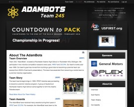 2009 Website - AdamBots v4