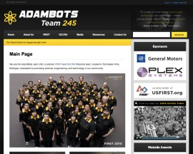2010 Website - AdamBots v5